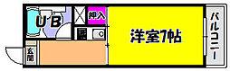 メゾンヤマモト[1階]の間取り
