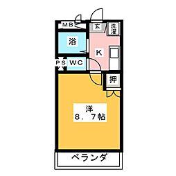 アネックス香久山[2階]の間取り
