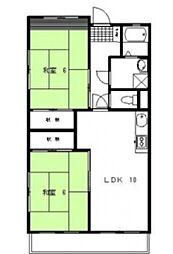 グランドピア[2階]の間取り