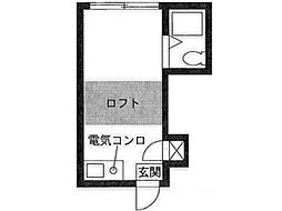 メープルタウン[1階]の間取り
