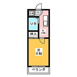 岩本ビル[5階]の間取り
