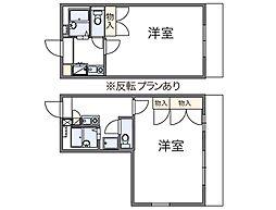 レオパレスUZAWA[1階]の間取り
