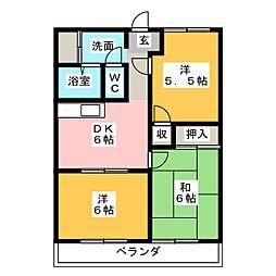 マイン96[3階]の間取り