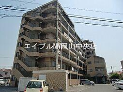 岡山県岡山市中区関丁目なしの賃貸マンションの外観