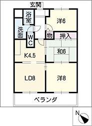 メゾンド・フォーレ五番館[4階]の間取り