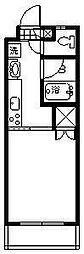 プチメゾン鶴島[209号室]の間取り