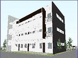大阪府高槻市城内町の賃貸マンションの外観