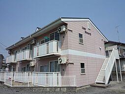 埼玉県さいたま市見沼区大字新堤の賃貸アパートの外観