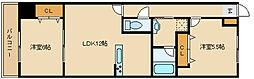 福々邸参番館[4階]の間取り