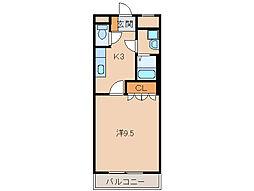 グランチェスタI[2階]の間取り