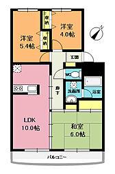 エイタイマンション[3階]の間取り