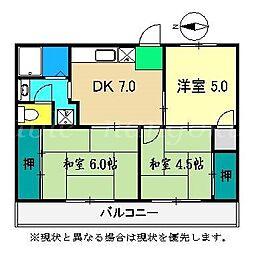 シンプルハウス[1階]の間取り