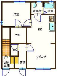 ラフォーレ福富7 103号室[1階]の間取り