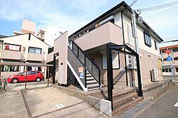 兵庫県神戸市垂水区本多聞2丁目の賃貸アパートの外観