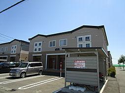 北海道札幌市東区東雁来十四条2丁目の賃貸アパートの外観