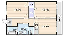 ロイヤルハイツ太田[9階]の間取り