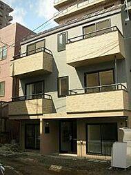 北海道札幌市中央区北七条西16丁目の賃貸アパートの外観