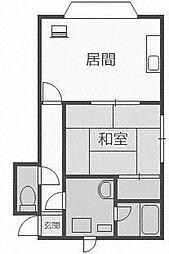 セントラルハイツ[2階]の間取り