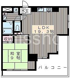6060-ウィスタリアハウス[2階]の間取り