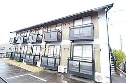 愛知県名古屋市天白区元植田3丁目の賃貸アパートの外観