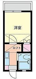 コーポラスクレイン[2階]の間取り