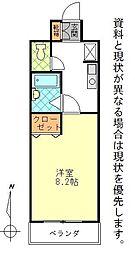 カーサ芳美II[310号室]の間取り