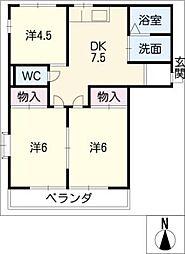 メゾン新栄[3階]の間取り
