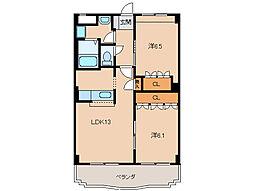 グランヴィア松江[3階]の間取り