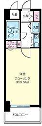 神奈川県横浜市南区真金町1丁目の賃貸マンションの間取り