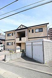 福岡県福岡市東区松田3丁目の賃貸アパートの外観
