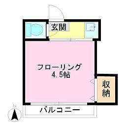 大野荘[2階]の間取り
