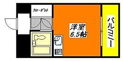 ヴィラ・オビラ 403号室[4階]の間取り