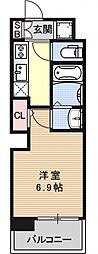 アクアプレイス京都洛南II[B402号室号室]の間取り