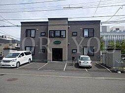 北海道札幌市豊平区月寒東二条9丁目の賃貸アパートの外観