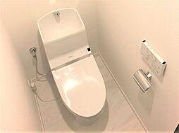 白基調で清潔感溢れる快適な温水洗浄便座です。