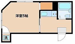 東京都中野区本町3丁目の賃貸マンションの間取り