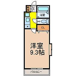 シティライフ上社(シティライフカミヤシロ)[3階]の間取り