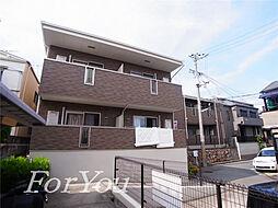 兵庫県神戸市灘区赤坂通1丁目の賃貸アパートの外観