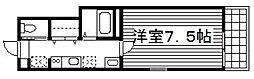 SPAZIO・K(スパジオ・K)[201号室]の間取り