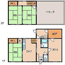 井上住宅[2階]の間取り