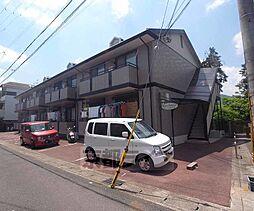 京都府京都市右京区嵯峨北堀町の賃貸アパートの外観
