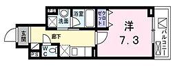 東京都大田区北糀谷1丁目の賃貸マンションの間取り