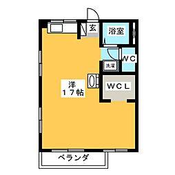 ハイツI[2階]の間取り