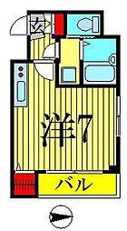 プランドール錦糸町[4階]の間取り