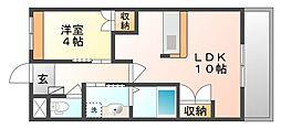 サニーホーム南畝[1階]の間取り