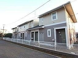 千葉県流山市駒木台の賃貸アパートの外観