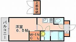 エンクレスト博多駅東[9階]の間取り