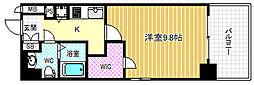 エスリード福島リバーフロント[5階]の間取り