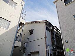大阪府大阪市住吉区長居東3丁目の賃貸アパートの外観