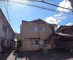 京都府京都市左京区吉田中阿達町の賃貸アパートの外観